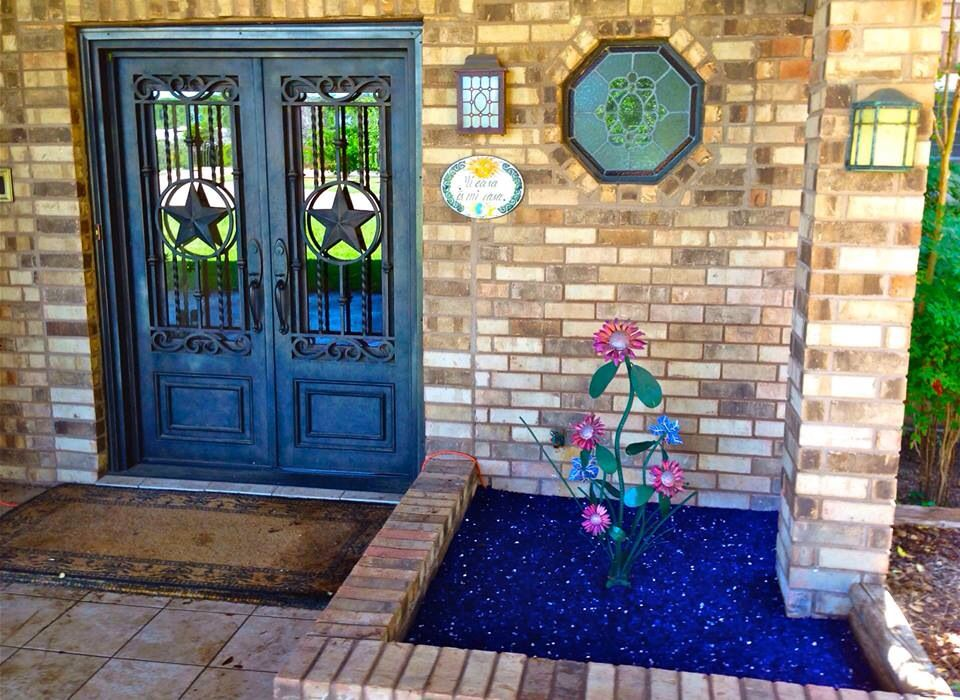 Front entry finished project