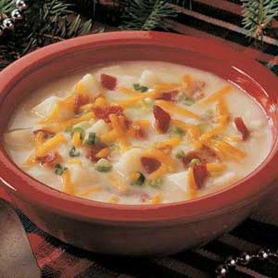 Hard Rock Baked Potato Soup Recipe Recipe Recipes Baked Potato Soup Recipe Food