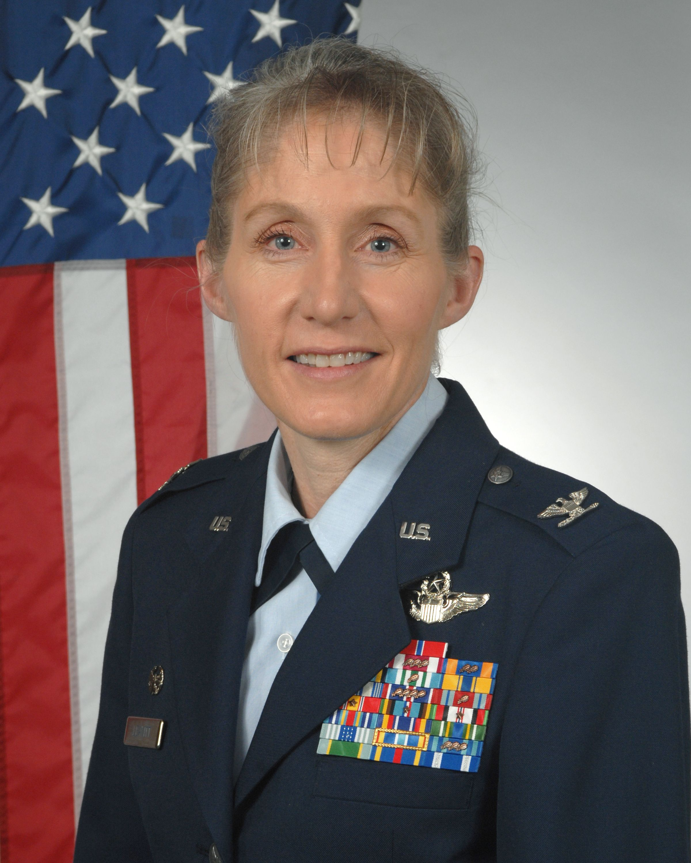 Seymour Johnson Base Commander, Colonel Jeannie Leavitt