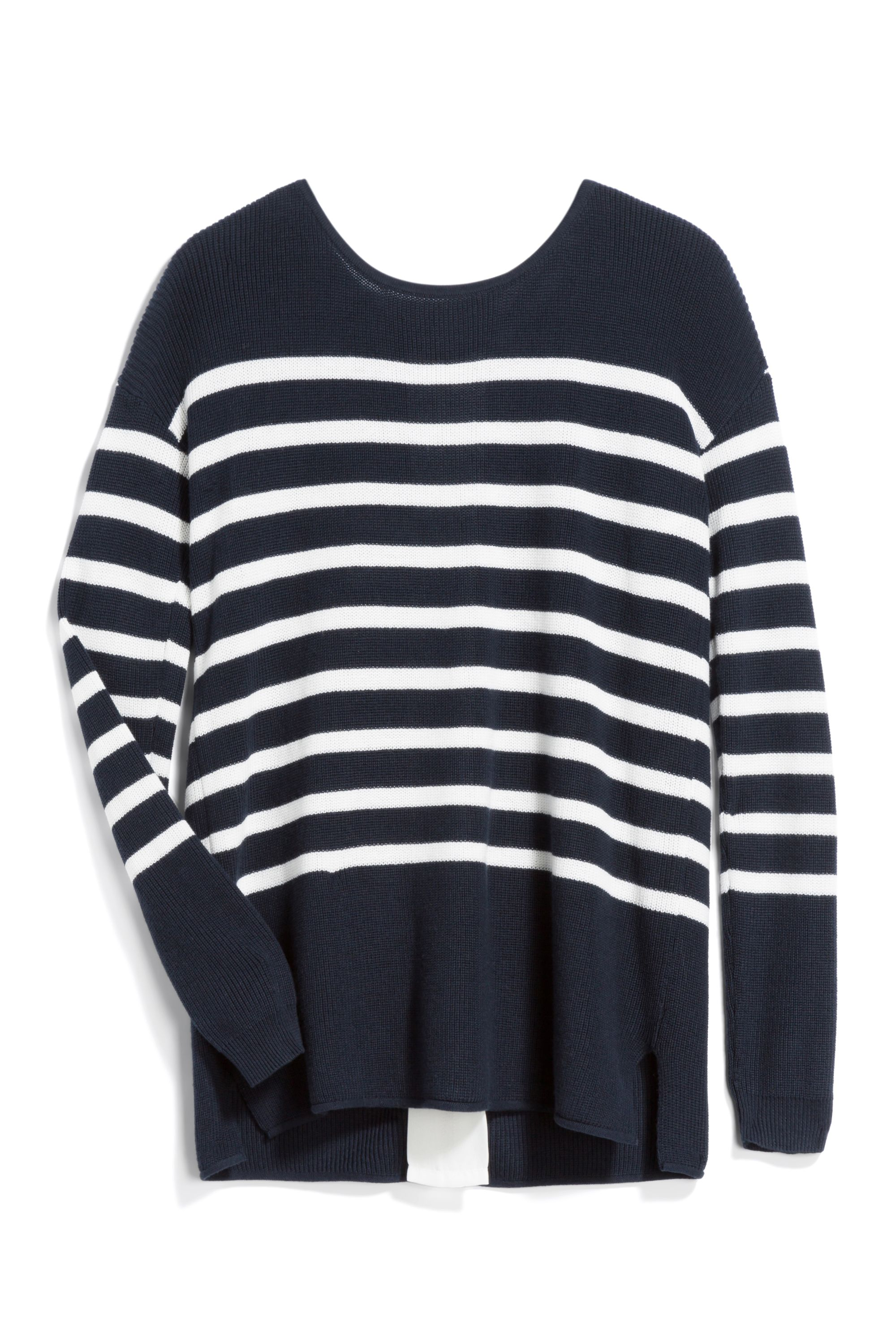 Perfect navy/white striped sweater. Sign up for Stitch Fix and ...