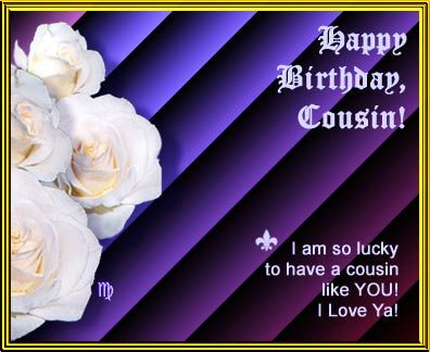 Happy Birthday Cousin Quotes Happy Birthday Cousin Quotes  Happy Birthday Cousin  Sparkle .