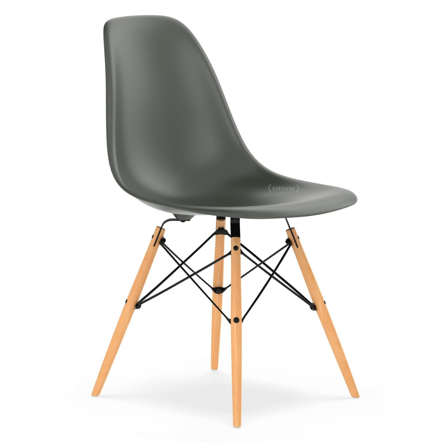 Eames Plastic Side Chair Dsw Basalt Grey