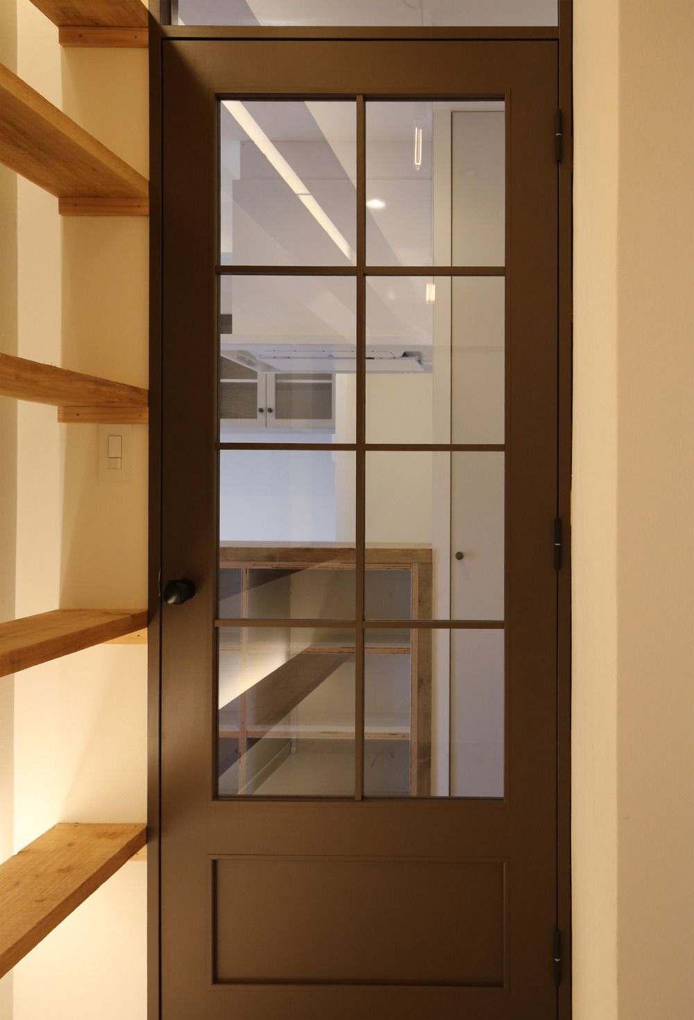イエナカ手帖 木製室内ドア リビング ドア ガラス リビングドア
