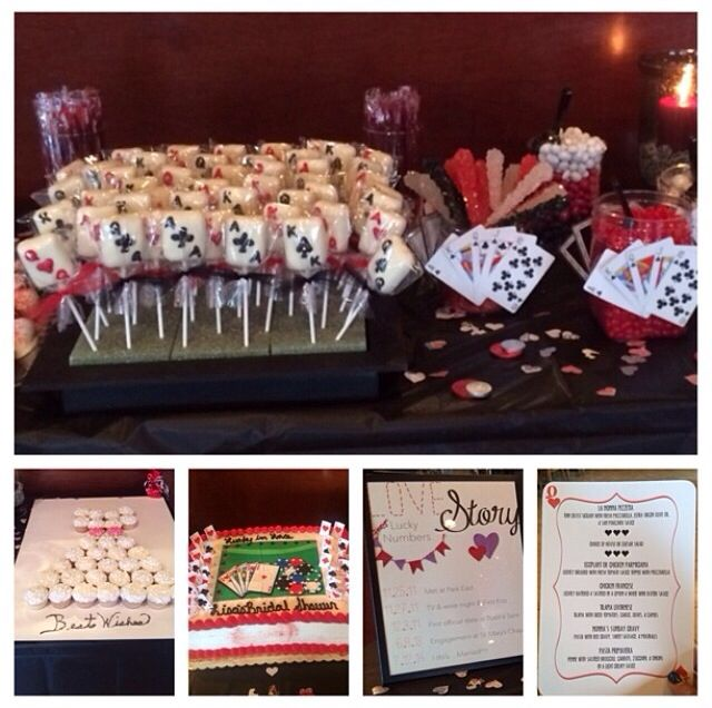 Lucky In Love Bridal Shower Theme