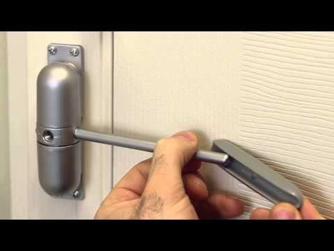 Automatic Safety Door Closer & Automatic Safety Door Closer | Garage doors Safety and Storm door ...