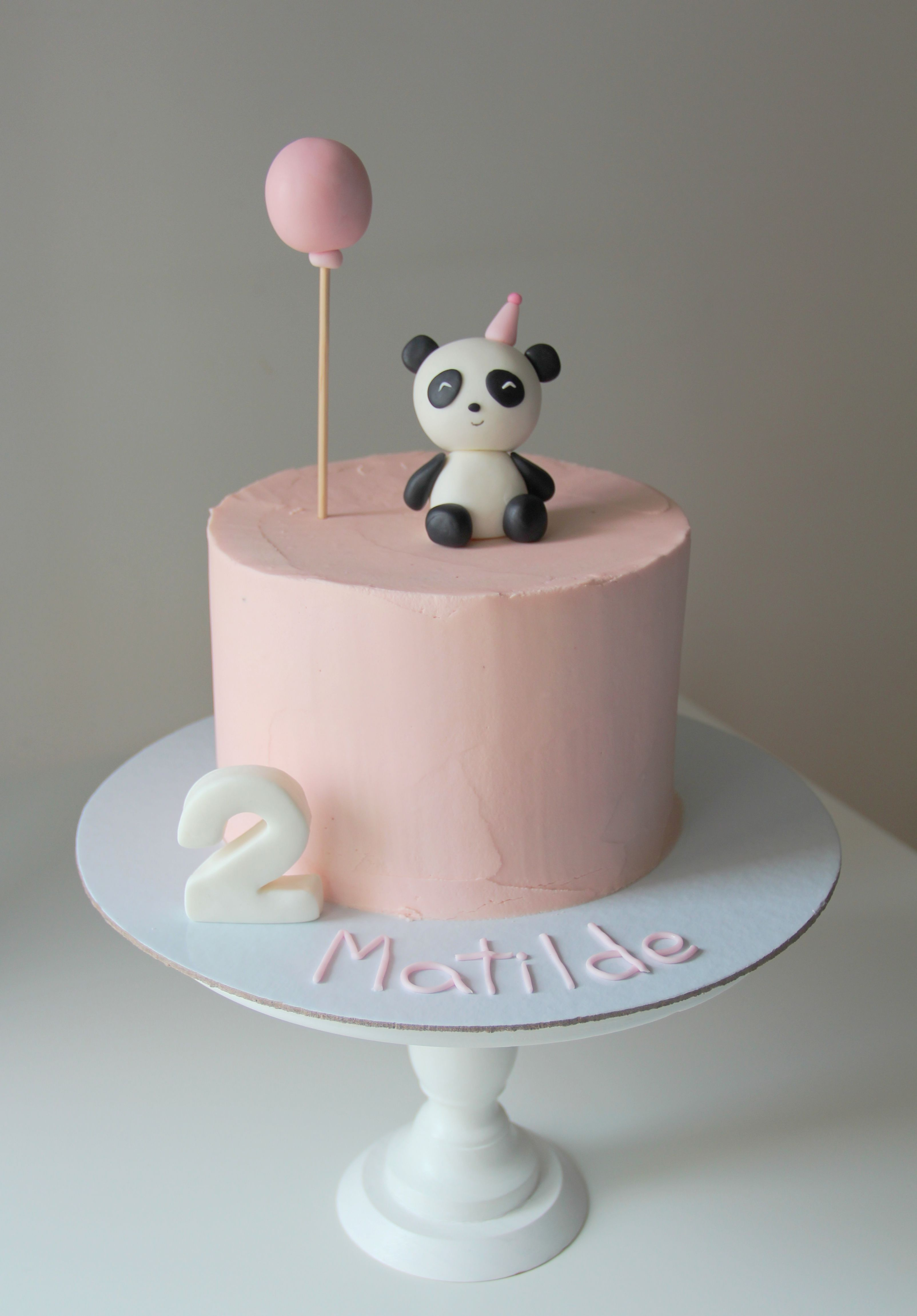 Panda Cake By Sugar Kids Cakes Panda Cakes Panda Birthday