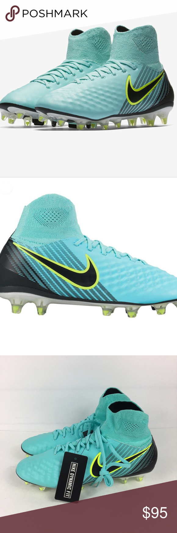 02e97b5a6 Nike Magista Orden II FG Aqua Soccer Cleats Nike Magista Orden II FG Aqua  Soccer Cleats 844223 400 Women s Size 8.5 New without box Nike Shoes  Athletic ...