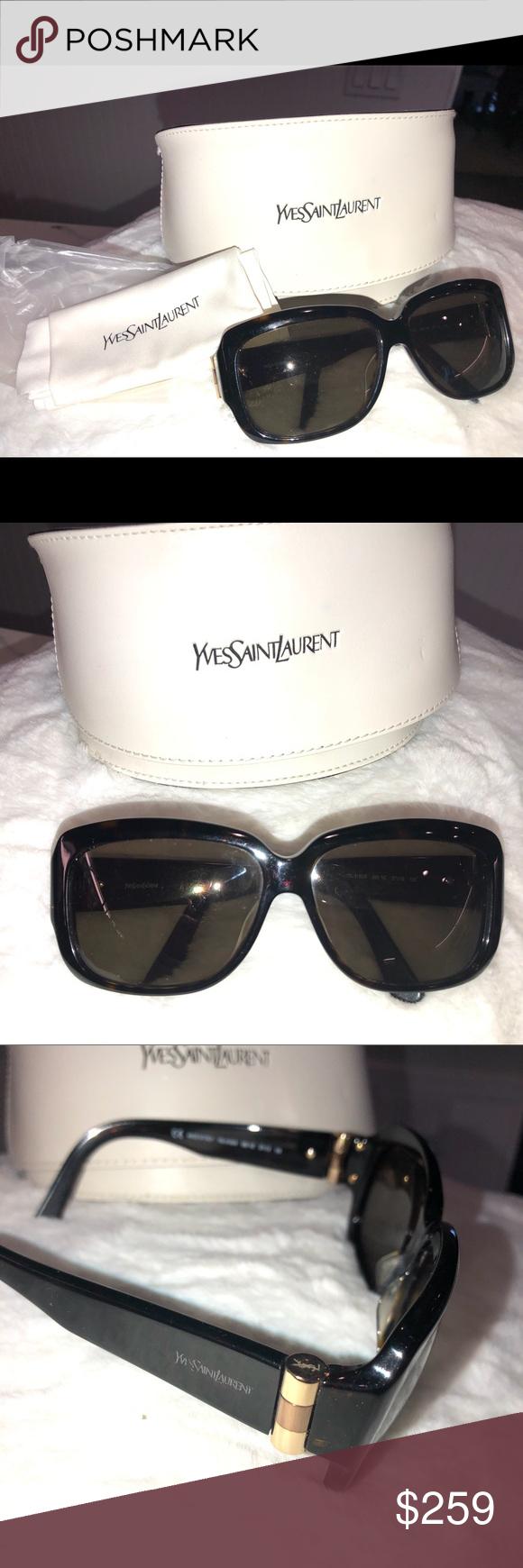 NWOT YSL sunglasses Sunglasses vintage, Ysl sunglasses