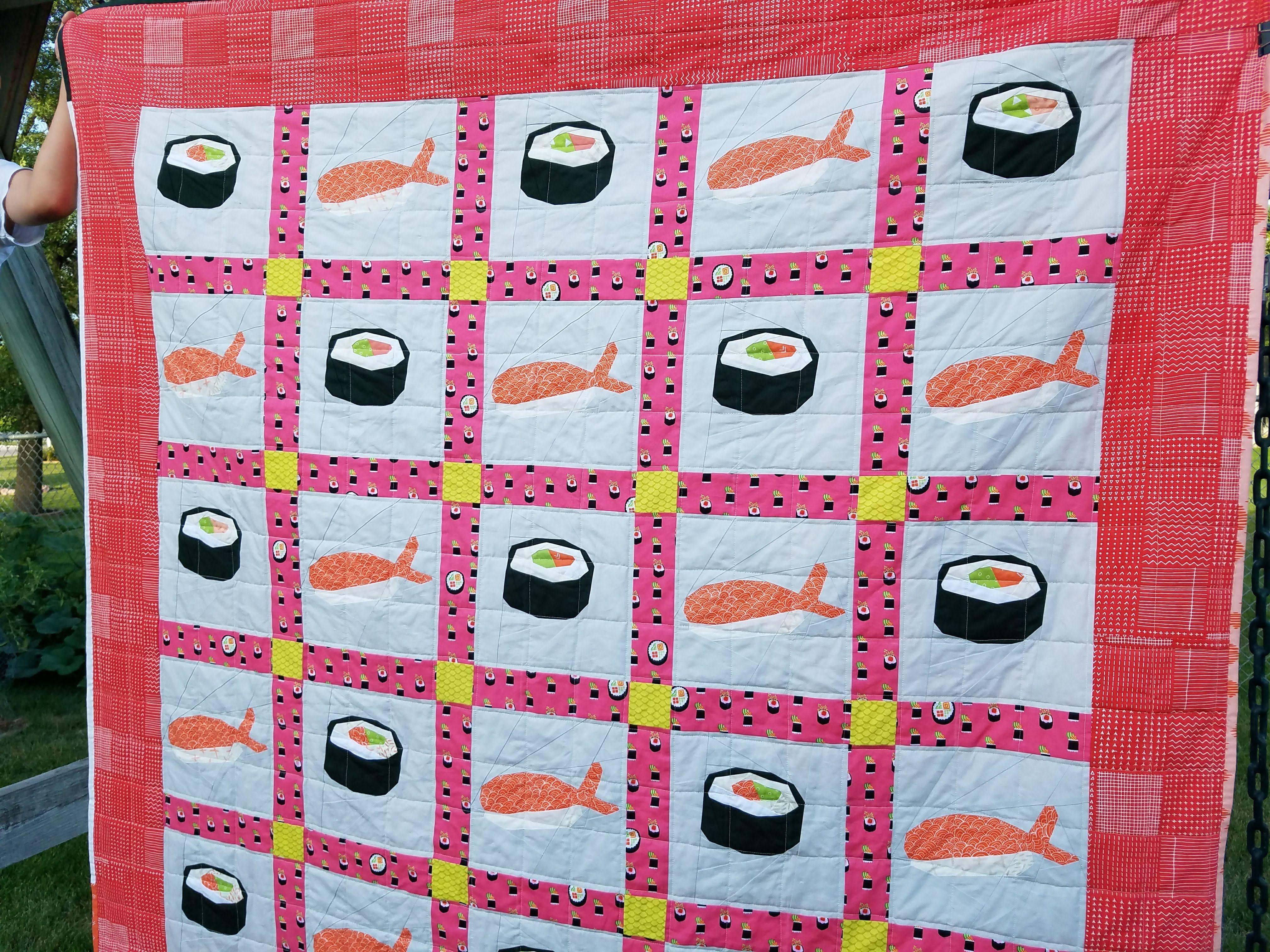 Sushi Quilt