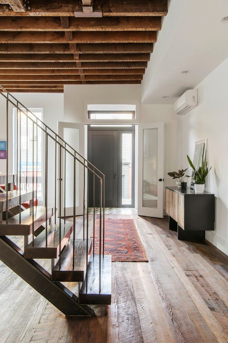 Interiors | Industrial | Pinterest | Industrial style, Townhouse and ...