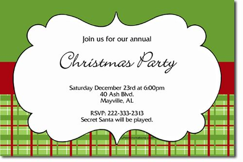 Ornament Exchange Christmas Party Invitations!!!