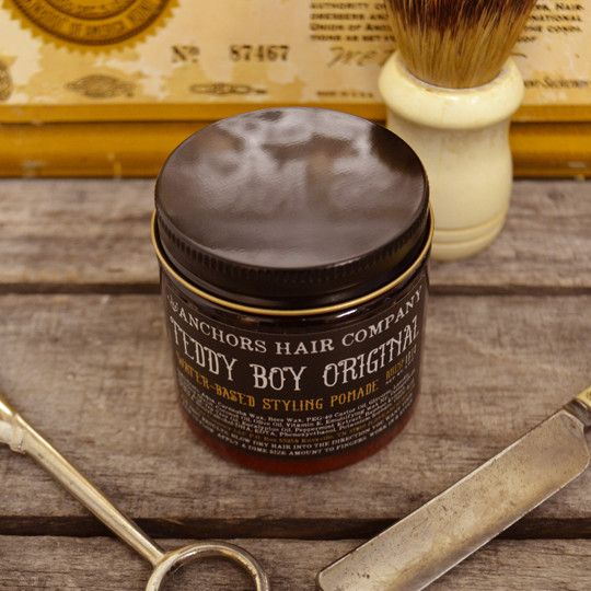 Teddy Boy Original Teddy Boys Beard Oil And Balm Water Based Pomade