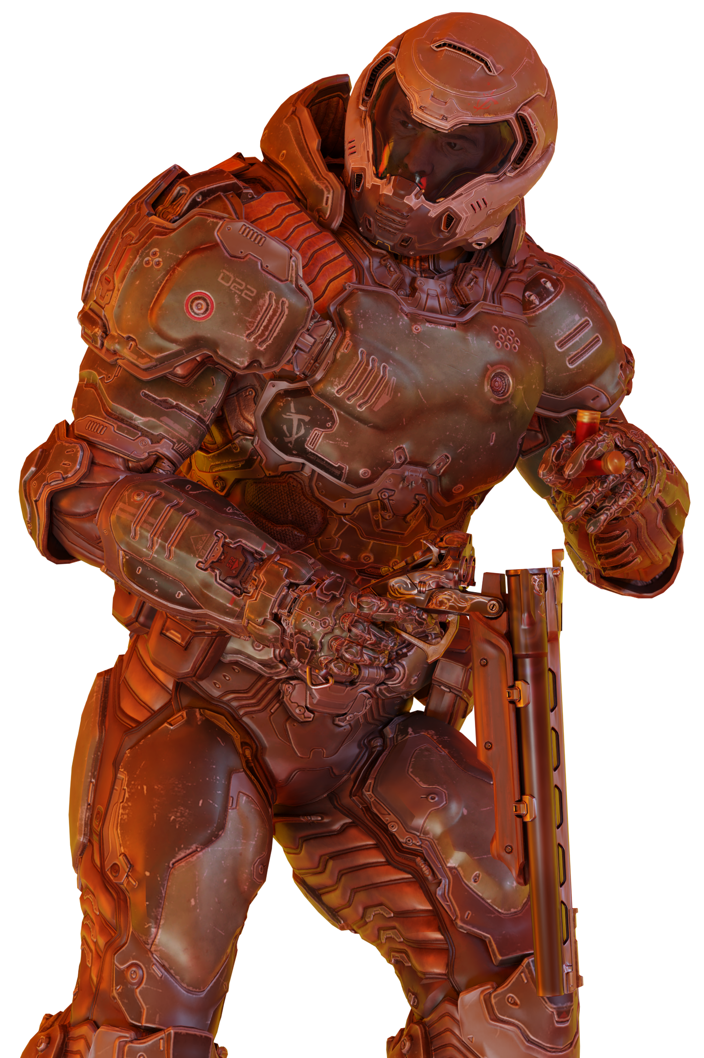 Doom Slayer Render Doom Game Slayer Doom
