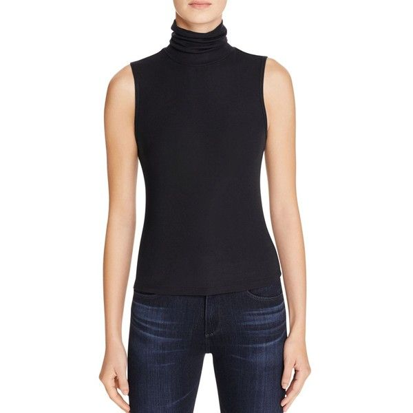 14717acab7eed Theory Wendel Sleeveless Turtleneck Top ( 140) ❤ liked on Polyvore  featuring tops