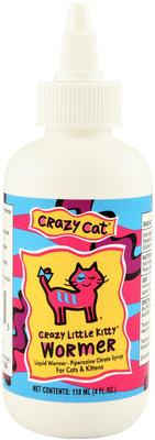 Crazy Little Kitty Wormer 4 Oz Little Kitty Wormer Kitty