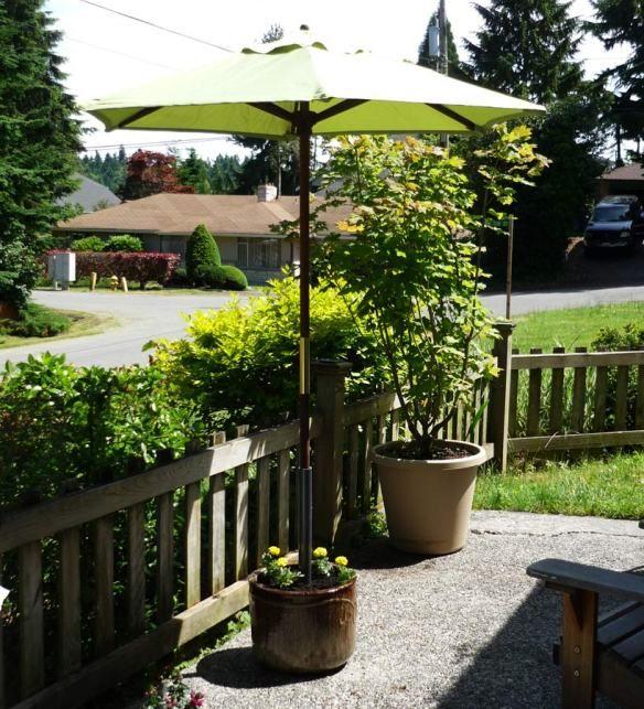 Made in the Shade – a unique planter pot Umbrella Stand