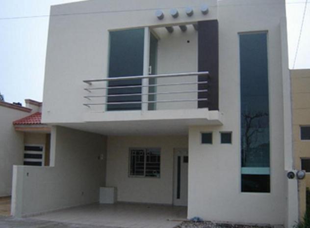 Modelos de casas peque as de dos pisos con 632 for Fotos de casas modernas con balcon