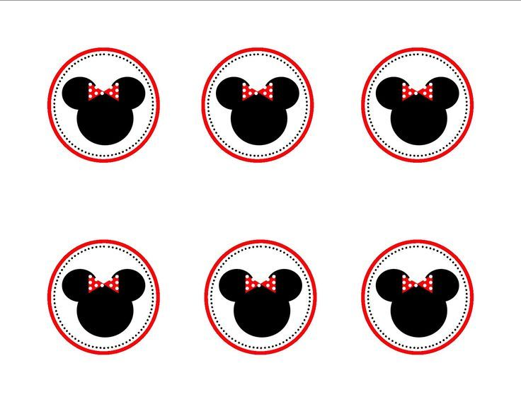 minnie mouse cupcake topper templates hannah s minnie mouse