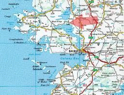 Map Location Of Cong Ireland Cong Ireland 2013 Pinterest Cong