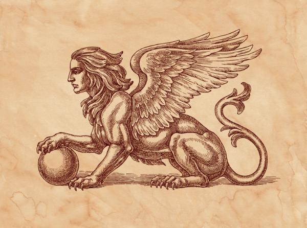 Los Animales Mitológicos Más Poderosos León Drawings Legendary