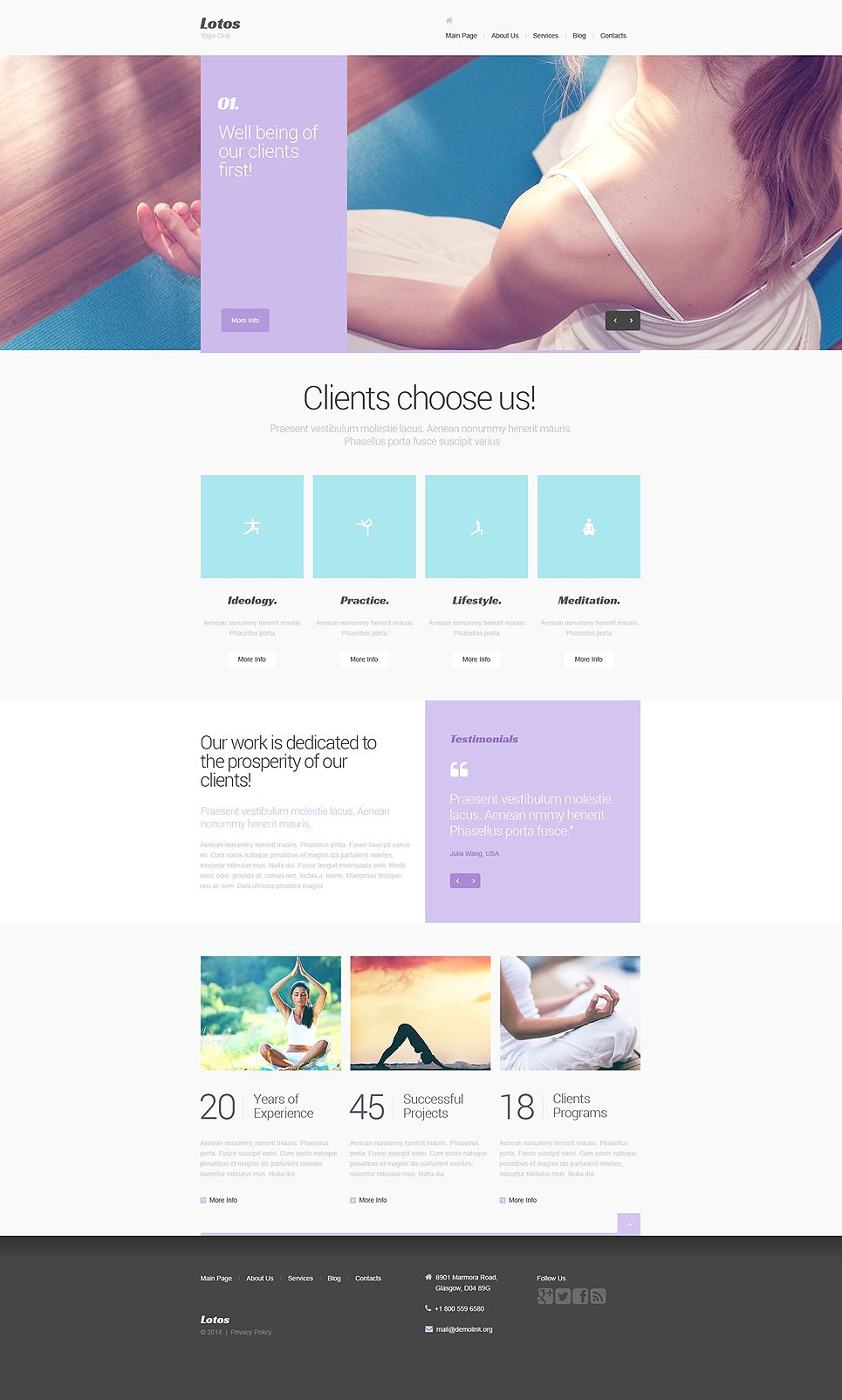Yoga drupal template design ideas pinterest drupal and template