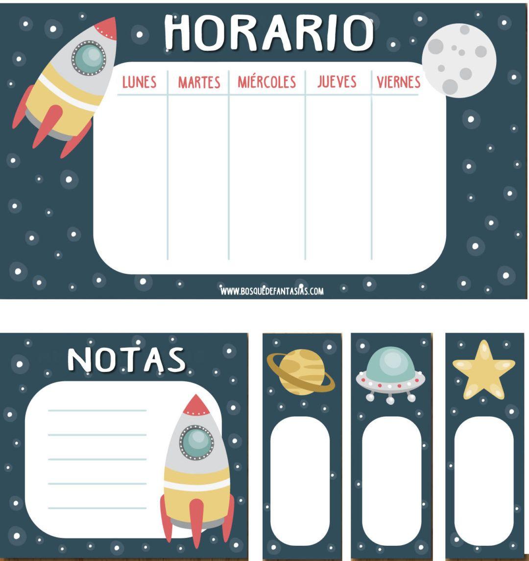 Calendarios Y Horarios De Clase Para Infantil Y Primaria Horario Para Niños Horario De Clases Horario Preescolar