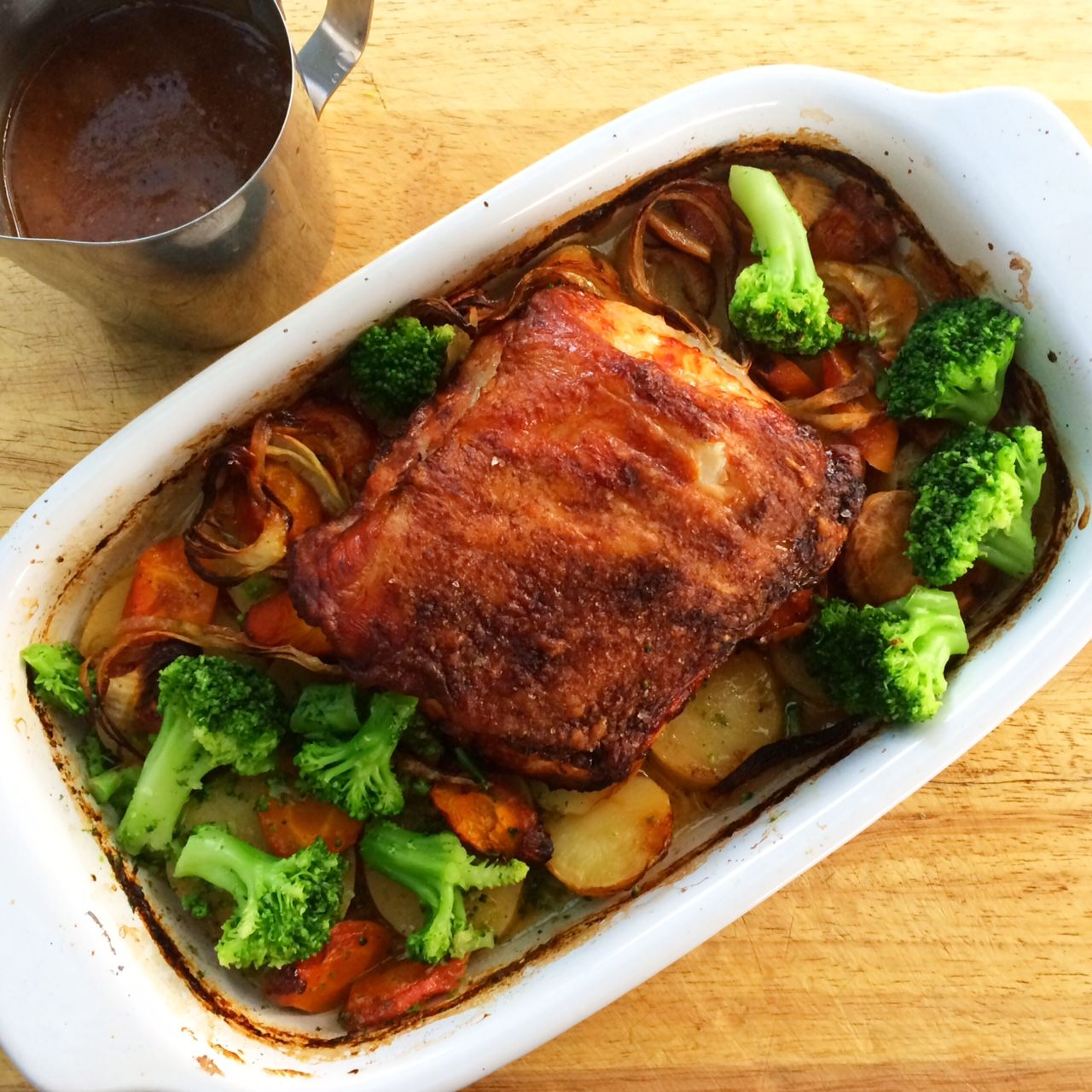Pork and apples are a match made in heaven and this recipe for Apple Cider Roast Pork is no exception.  It is such a simple recipe to make with impressive cooked results.  This is also a one-dish wonder (except for the gravy) which means less dishes. Roasting and flavours don't need to be complex or […]