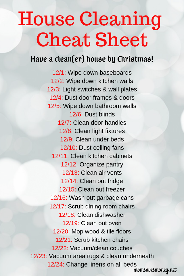 Have a Clean(er) House by Christmas With This Clea