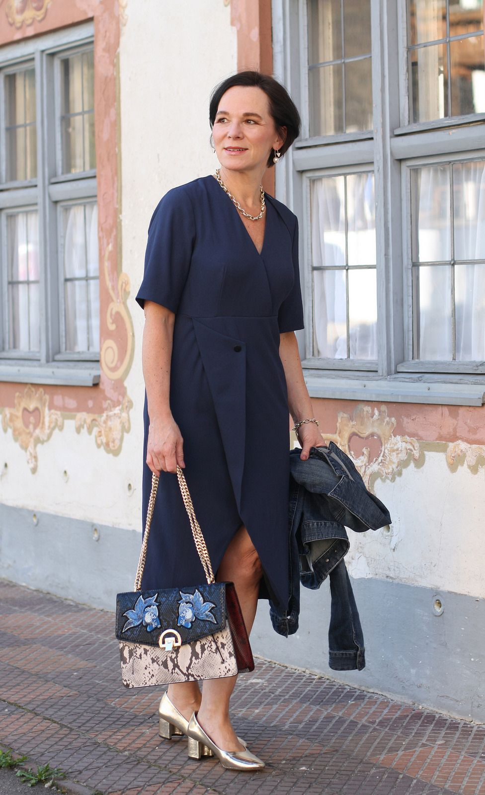 style mix: blue dressfinery london, casual denim jacket