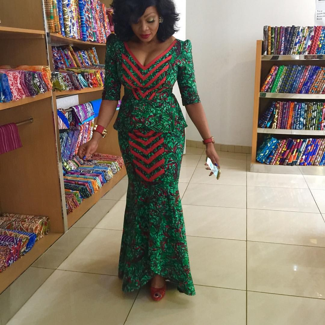Ogodor Rocks Dkk Latest African Fashion Ankara Kitenge African Women Dresses African