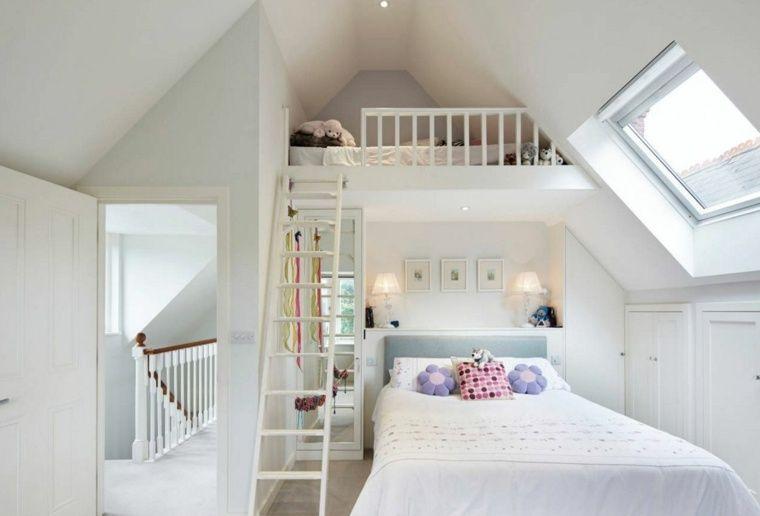 Mezzanine bed een extra gezellige en intieme kamer slaapkamer