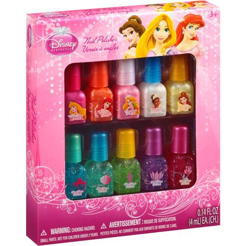 disney princess nail polishes