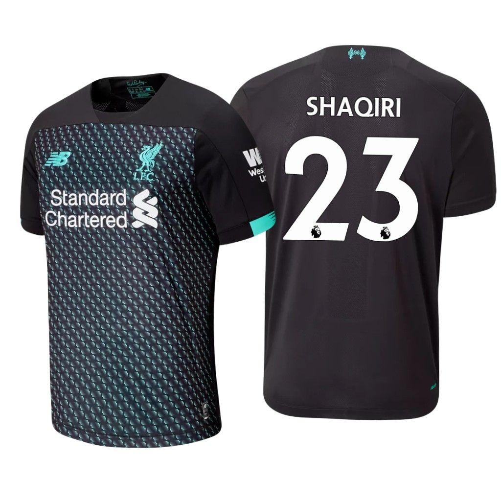 23 Xherdan Shaqiri 2019 2020 Liverpool Third Football Shirt Football Shirts Liverpool Football Kit Liverpool Football