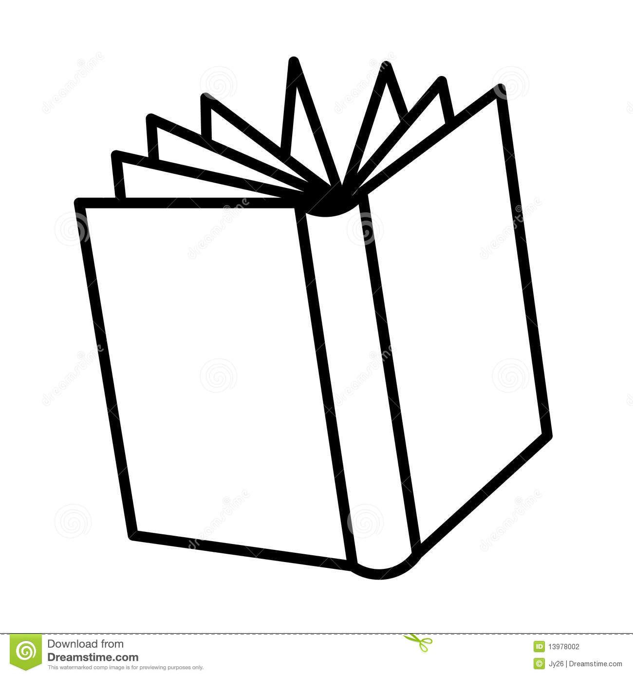 printable open book coloring pages - photo#44