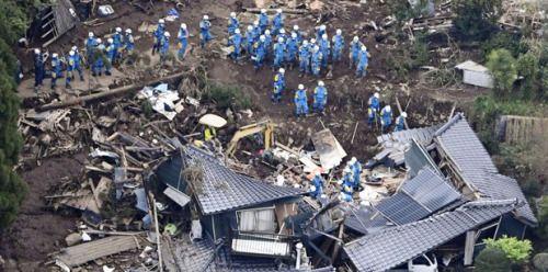 Decenas de muertos en Japón tras fuerte terremoto...