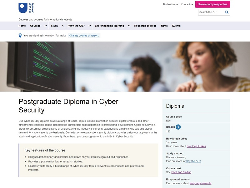 Best Cybersecurity Courses Online For Free The Open University Cyber Secrutiy In 2020 Cyber Security Cyber Security Course Online Courses