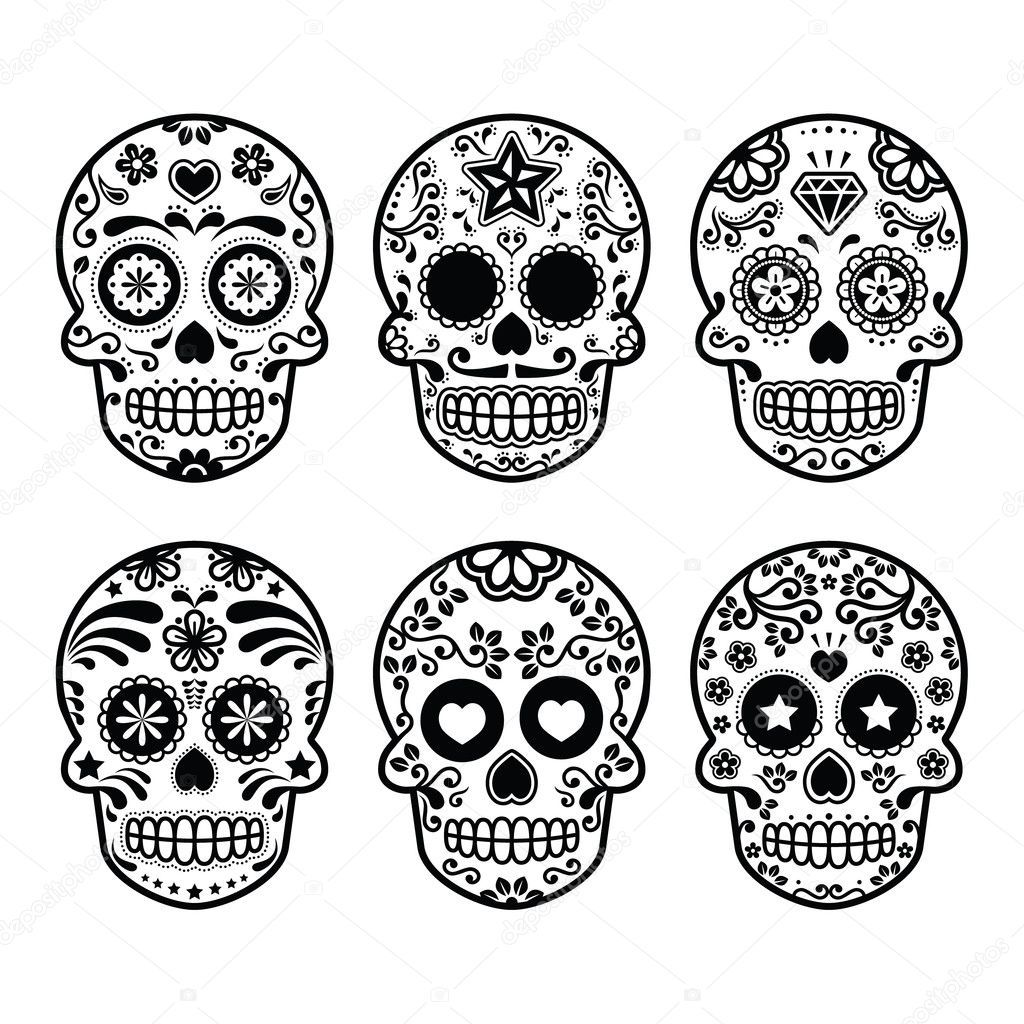 Related Image Doodshoofd Tatoeage Ontwerp Schedel Mexicaanse Schedels