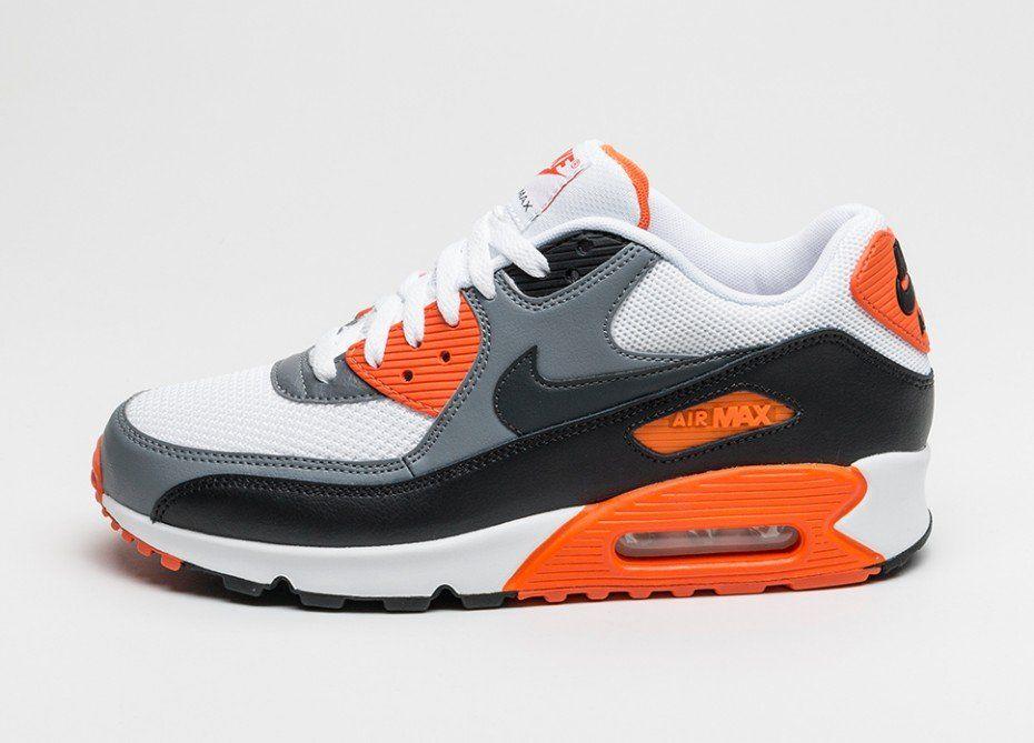 air max 90 essential bleu et orange