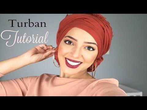 Tuto Turban As Requested Easy Turban Tutorial Salima Le Vaut
