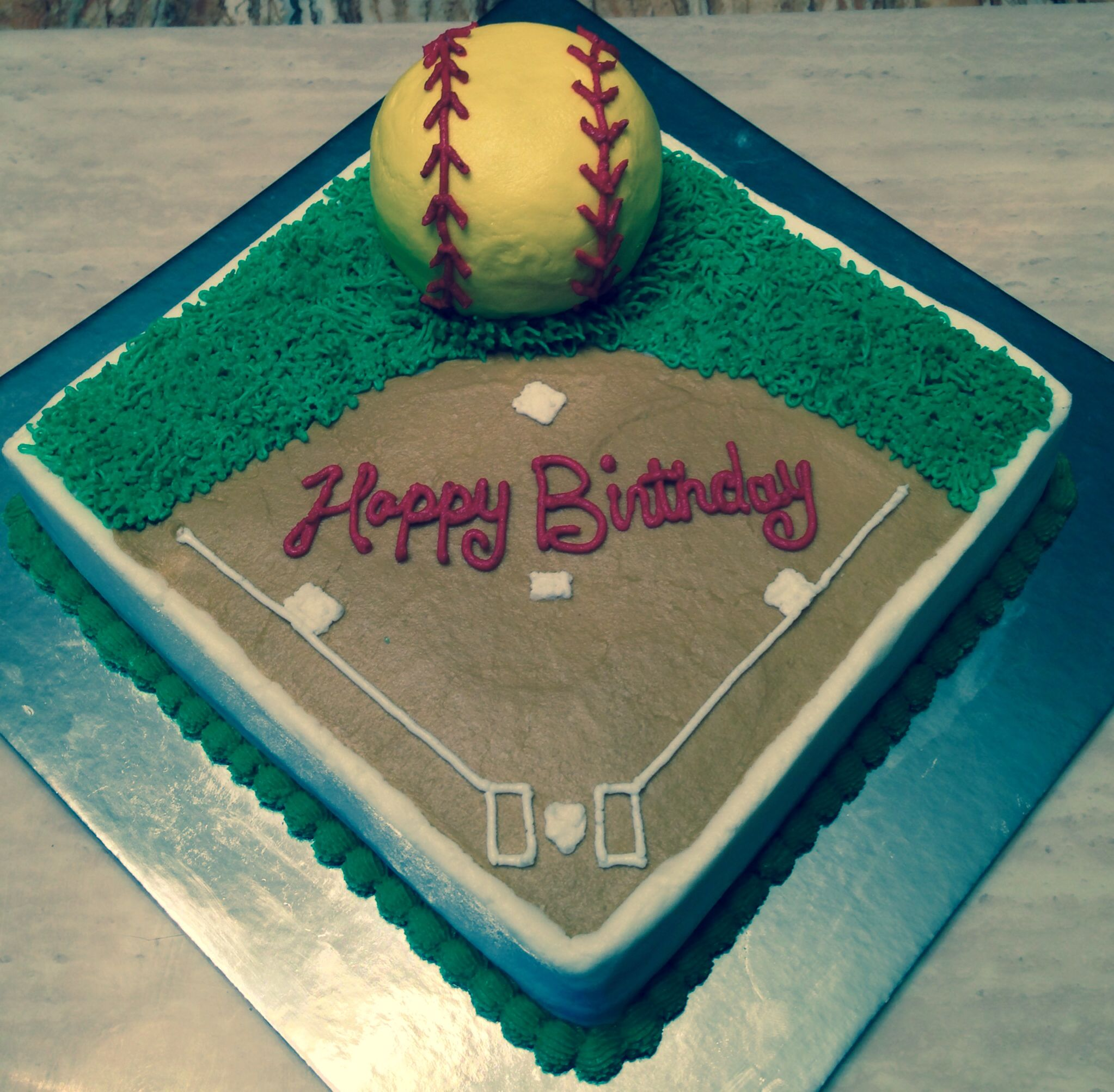 Photo of Softball cake
