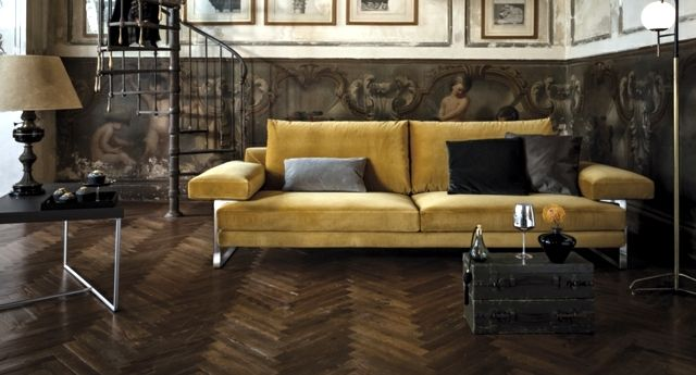Sofa Upholstered In Alcantara And Other Areas Of Application Of