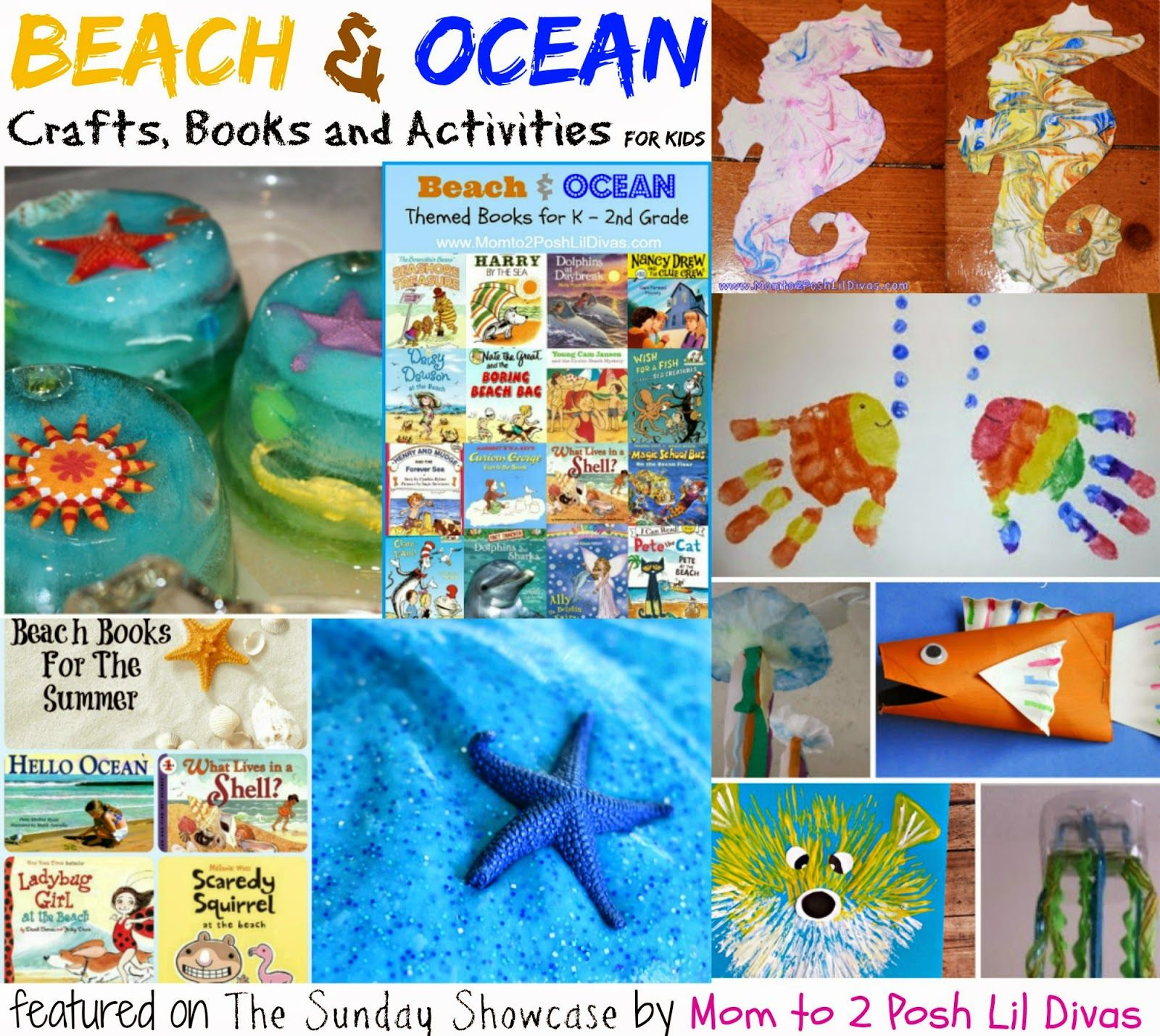 Beach And Ocean Themed Crafts Activities Books Just