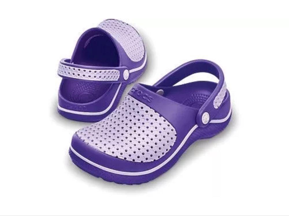 0fd8a2f2b30596 New CROCS Junior CrosMesh Kids Girls Clogs Shoes Sandals - Infant and Kids  sizes