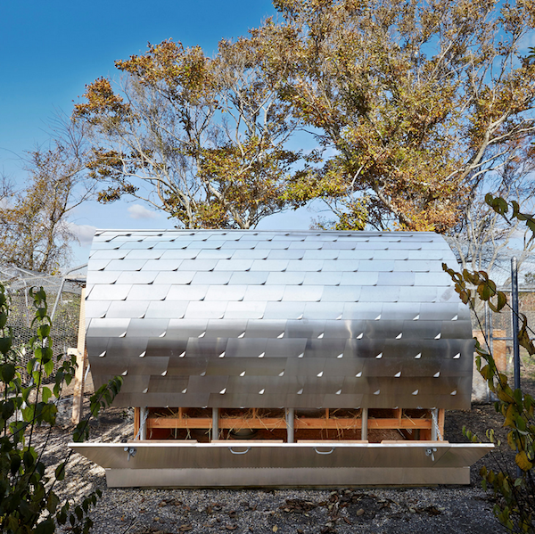 Modern Chicken Coop by Architecture Research Office (ARO ...