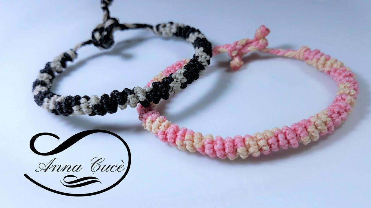 How to make a spiral bracelet -