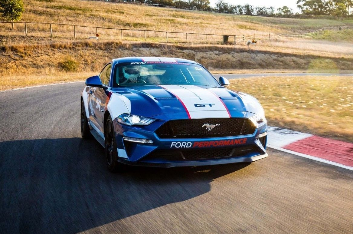 2019 Ford Mustang Gt Ford Racing Performance Race Car 54