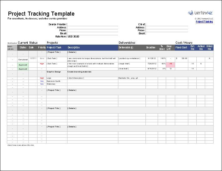 15+ Project Management Templates for Excel Project Schedules