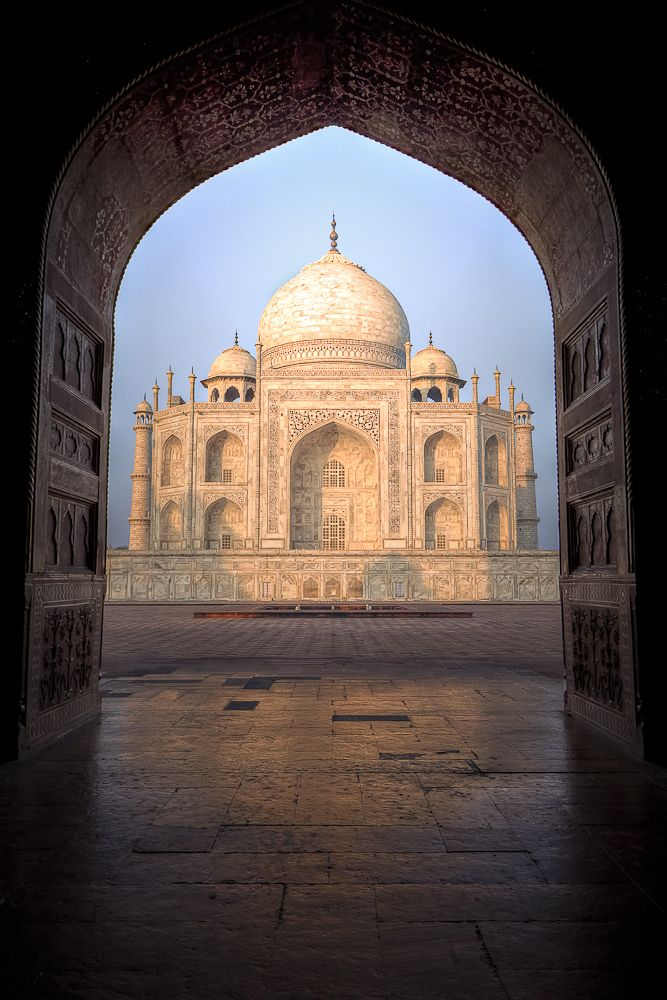 MOM'S DREAM VACATION SPOT:  Taj Mahal, Agra, India
