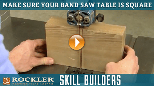 how to square a table saw blade