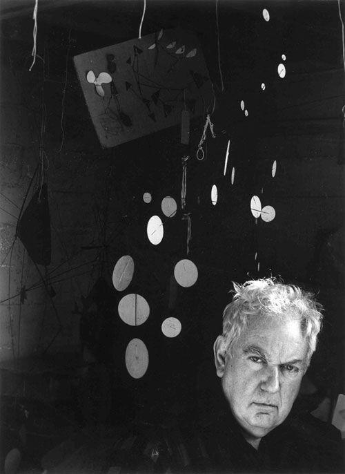 Alexander Calder by Arnold Newman